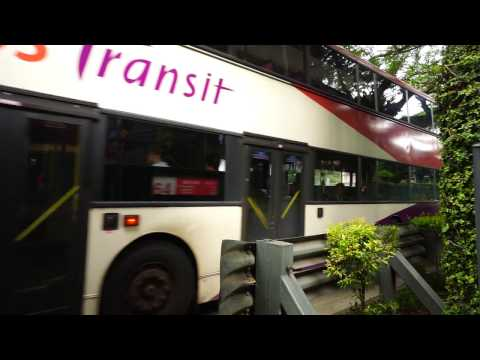 Singapore, ride with double decker bus 65 from opp Canossa Convent Pr to Hotel Rochor @ Mayo St