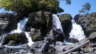 鮎壺の滝 の風景 黄瀬川 静岡県沼津市・駿東郡長泉町