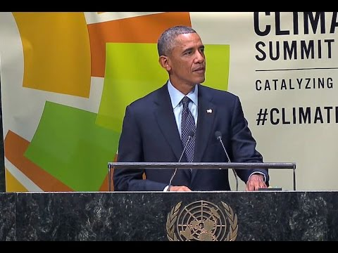 President Obama Speaks at the 2014 Climate Summit