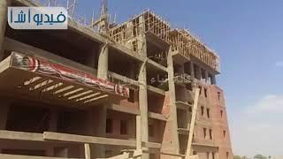 بالفيديو: محافظ القليوبية ورئيس جامعة بنها يتفقدان مبنى التربية الرياضية الجديد