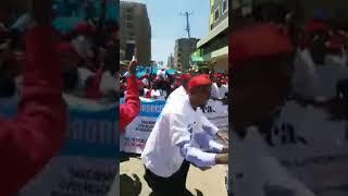Protest against Terrorism attacks