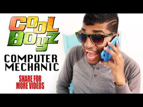 Computer Mechanic - CoolBoyzTV - Guyanese Jokes