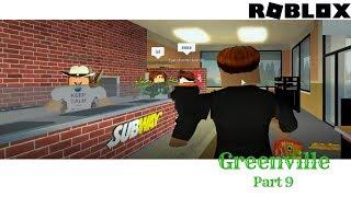Roblox Greenville: Part 9 Eating at Subway