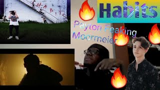Payton Moormeier - Habits (Official Music Video) Reaction and Review!!
