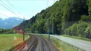 Führerstandsmitfahrt Salzburg - Schwarzach/St. Veit [HD] - Cab Ride - ÖBB 1116