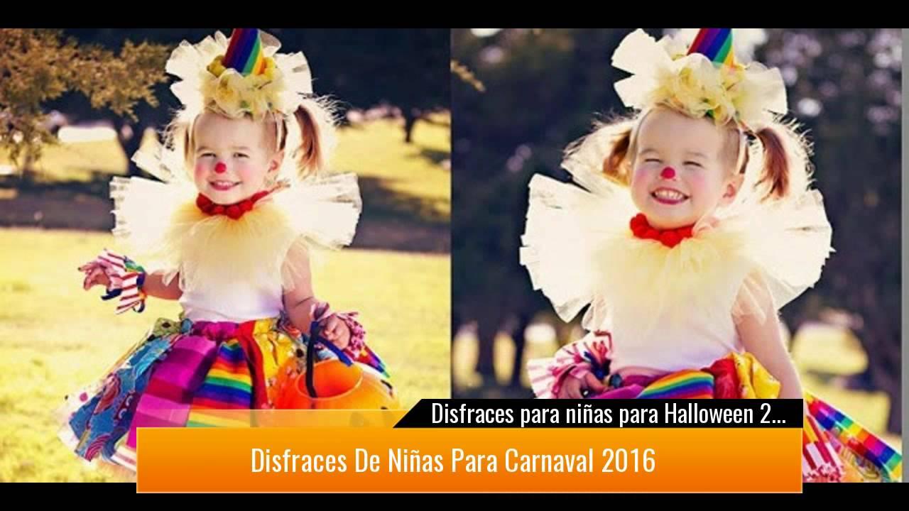Disfraces para ni as para halloween 2017 youtube - Disfraces navidenos para ninas ...