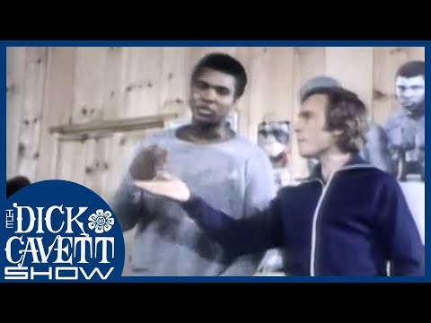 Dick Trains with Muhammad Ali | The Dick Cavett Show