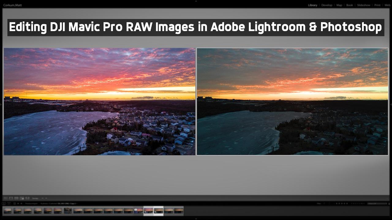 Mavic Pro RAW Editing Tutorial (Lightroom & Photoshop)
