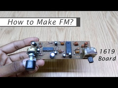 How to Make FM | 1619 Board