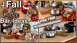Fall Coffee Bar Ideas