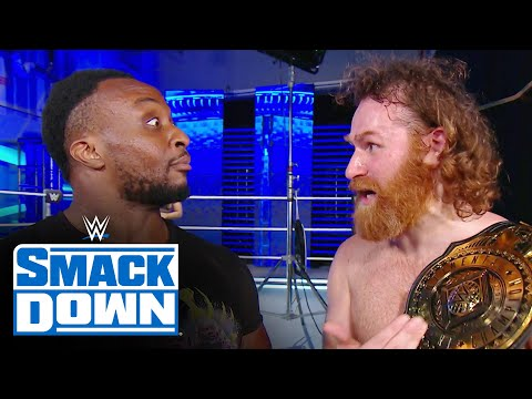 Big E holds an intense handshake with Sami Zayn for 10 seconds: SmackDown, Nov. 27, 2020