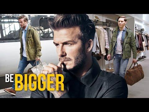 Стиль Дэвида Бекхэма. David Beckham Style. Мужской стиль.
