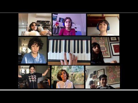 Shargi-e Ghamgin  — Pardis for Children's Virtual Performance by Choir 2 (Spring 2020)