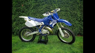 A 1997 WR250 Richard's around in the Dial-In Forest (Two Stroke)