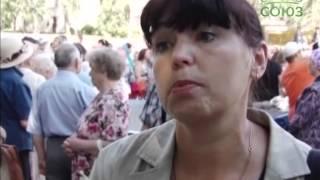 Кампан Александро-Невской лавры посетил Череповец(В Череповец прибыл 18-тонный колокол «Александр Невский», который на специальном тягаче совершает путь..., 2014-07-30T10:20:53.000Z)
