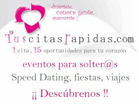 conocer gente speed dating