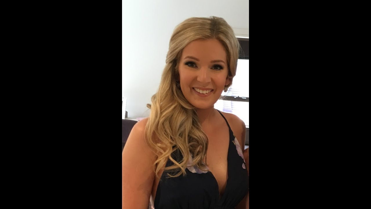 Wedding Guest Hair And Makeup : Wedding guest appropriate hair + makeup tutorial - YouTube
