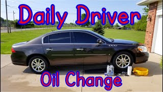 How to change oil Buick Lucerne