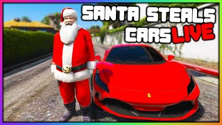 GTA 5 Roleplay - SANTA STEALS CARS AND MORE | RedlineRP