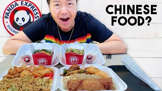 Chinese Guy Tries Panda Express for the First Time
