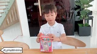 Ăn kẹo Bồn Cầu | Ly Hai Minh Ha Family
