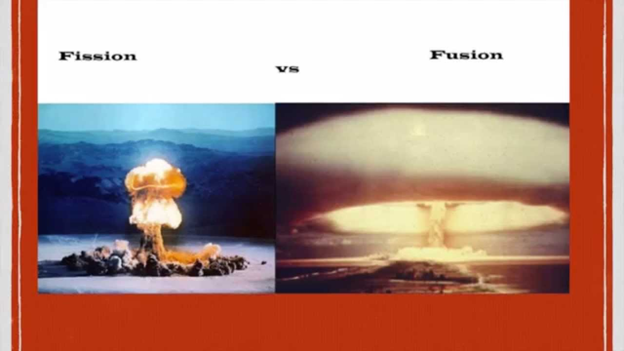 Nuclear Fission vs. Nuclear Fusion - YouTube