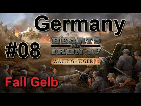 Hearts of Iron IV WtT - Germany 08  Invasion of the Low Countries & France