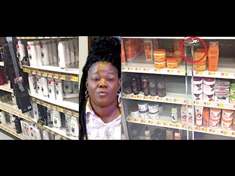 Cali Woman Sues Walmart For Locking Up Black Hair Products.