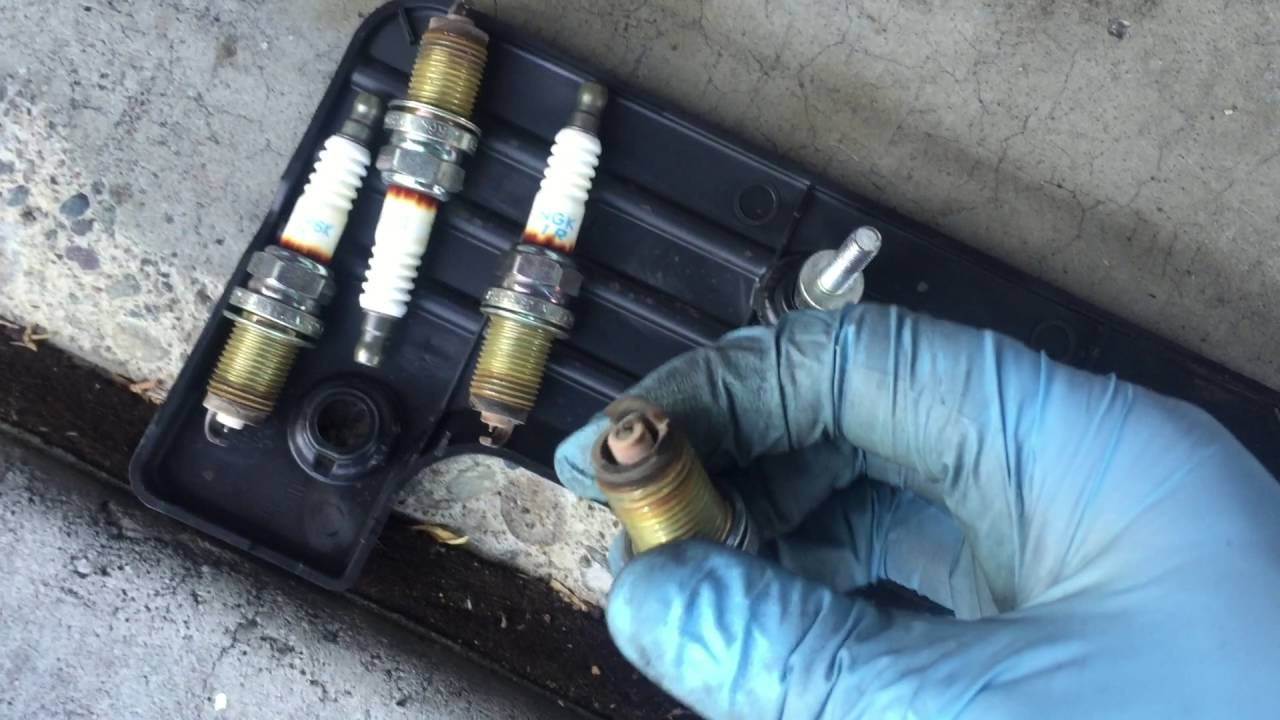 2006 Honda Accord 2.4L Spark Plug Change - YouTube