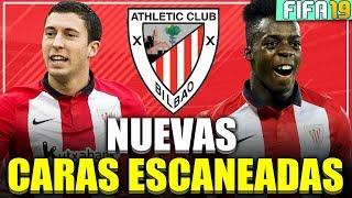 FIFA 19 - NUEVAS CARAS ESCANEADAS DEL ATHLETIC CLUB BILBAO - MODO CARRERA