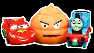 Splatter Turd Vs The Popular Toys, Who Can Kill The Farting Turd Toy?