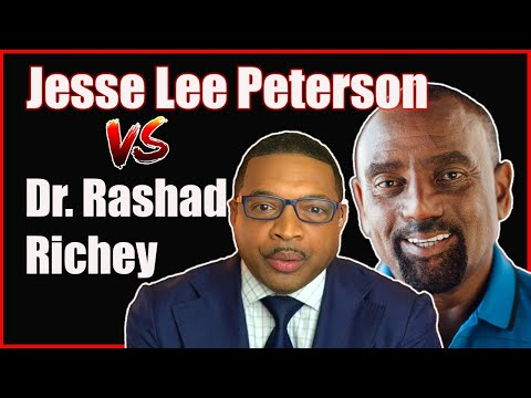 Jesse Lee Peterson Gets Kicked Off Dr. Rashad Richey's Show