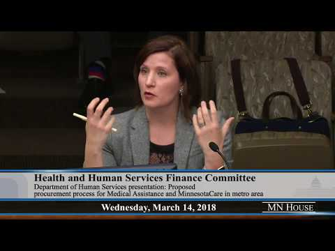 House Health and Human Services Finance Committee  3/14/18