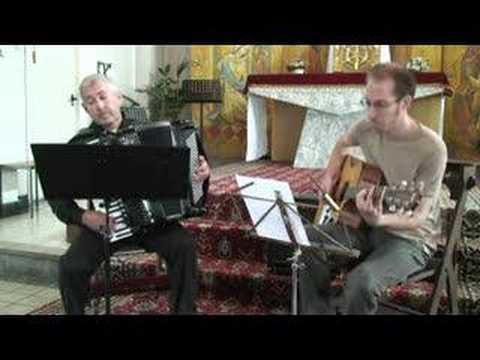 TANGO Accordion & Guitar music - Petite Fleur - Sidney Bechet  - Acordeon Akkordeonmusik Fisarmonica
