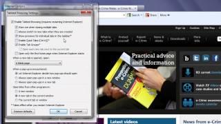 Internet Explorer 9 Security Settings 2012