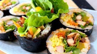 김밥[매운 오징어 김밥] 만들기! 유명 맛집 매운김밥 …