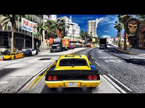 ► GTA VI Graphics - 69 Dodge Charger! ✪ REDUX - Gameplay! Ultra Realistic Graphics MOD PC1080p60 FPS