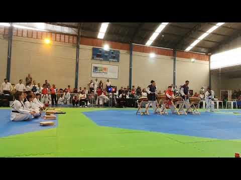 Campeonato Paulista de Faixa Preta de Taekwondo em Ribeirão Pires 2020