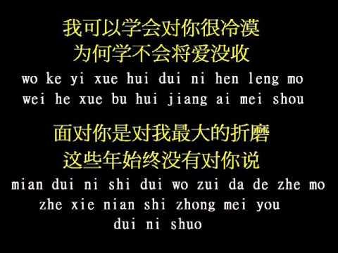 伍佰/Wu bai - 被动 / Bei dong (passive) Pin Yin Lyrics