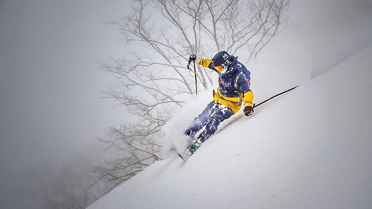 Deep Powder Skiing Around Japan 1 2 Meters Of Snow Overnight Youtube