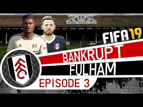 FIFA 19 Career Mode | SACKED IN THE MORNING! | BANKRUPT FULHAM (Ep 3) | Youth Academy