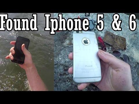 Found Iphone 5 & 6 in the River!!! Georgia River Treasure!!