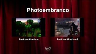 Como criar dia e menu van de DVD, het maken van DVD-menu en schuif geen Proshow Producer 6(modo 2)