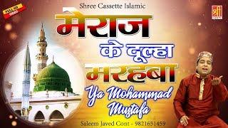 मेराज के दूल्हा मरहबा - Ya Mohammad Mustafa - New Qawwali 2018 - Saleem Javed #ShreeCassette