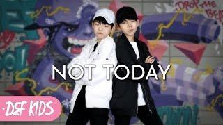 figcaption [댄스학원 No.1] BTS (방탄소년단) - Not Today KPOP DANCE COVER / 기초댄스 전문학원 데프키즈댄스스쿨 수강생 월평가 케이팝 최신가요안무
