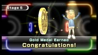 Wii Play - 9 Stages - All Gold Medals Earned