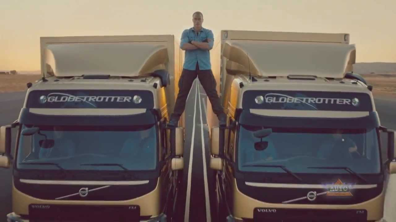Volvo Trucks: Jean-Claude Van Damme Epic Split Stunt - The Complete