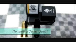 The sound of Selmer Soloist (alto sax)