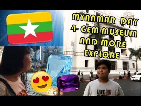 Cyrel's Travel Vlog - Myanmar Vlog Day 4- Explore beyond the city and Visiting the gem museum!