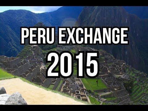 Peru Exchange 2015